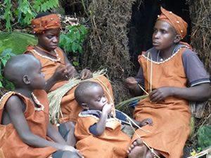 Batwa People in Bwindi