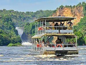 Boat Cruise in Murchison Falls