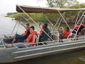 Boat Cruise on Lake Ihema